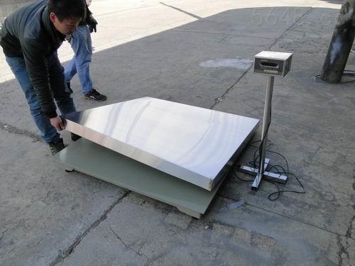 SCS-河南信阳厂家供应5T地磅 不锈钢电子磅秤 质优价廉